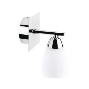 Kinkiet BRITOP Lighting AQUATIC klosz w dół chrom