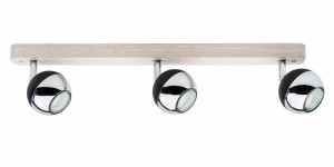 Listwa SPOT Light BIANCA WOOD 3 LED do pokoju